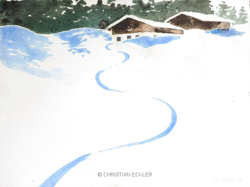Winterliche Alm, 2015
