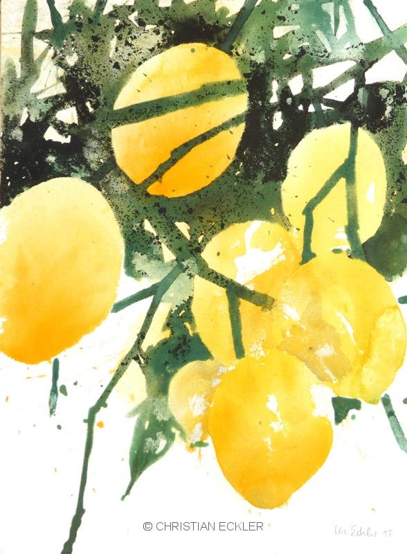 Zitronen II, 2015