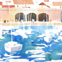 Hafen, Dubrovnik, 2015