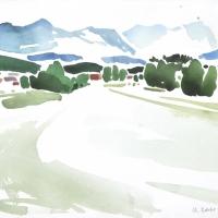 Voralpenlandschaft, 2015
