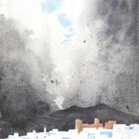 Regenwolken, Chefchaouen, 2016