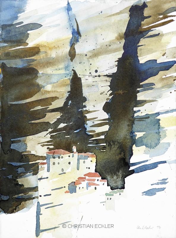 Aghios Roussanou II, Meteora, GR, 2017