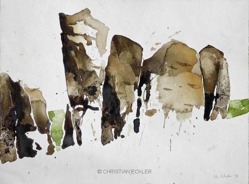 Felsen, Meteora, GR, 2017