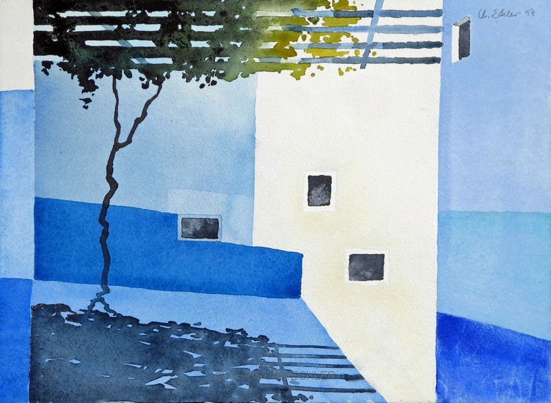 Weisses Haus, Chefchaouen, MA, 2017