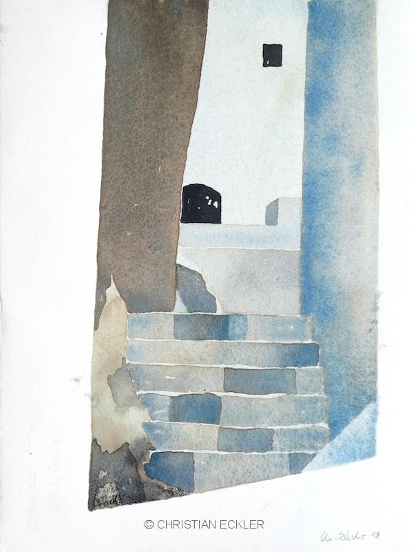 Gasse Amorgos, GR, 2018