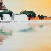 Königspalast Mandalay, MM, 2018