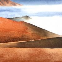 Wüstendünen, Erg Chebbi, MA, 2020
