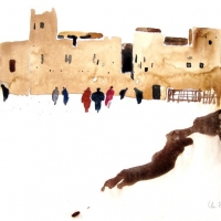 Bei Tinerhir, Marokko, 2009
