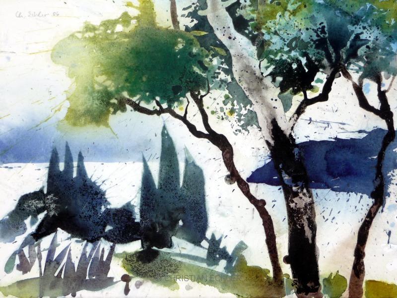 Oberhalb Levanto, Ligurien, 2006