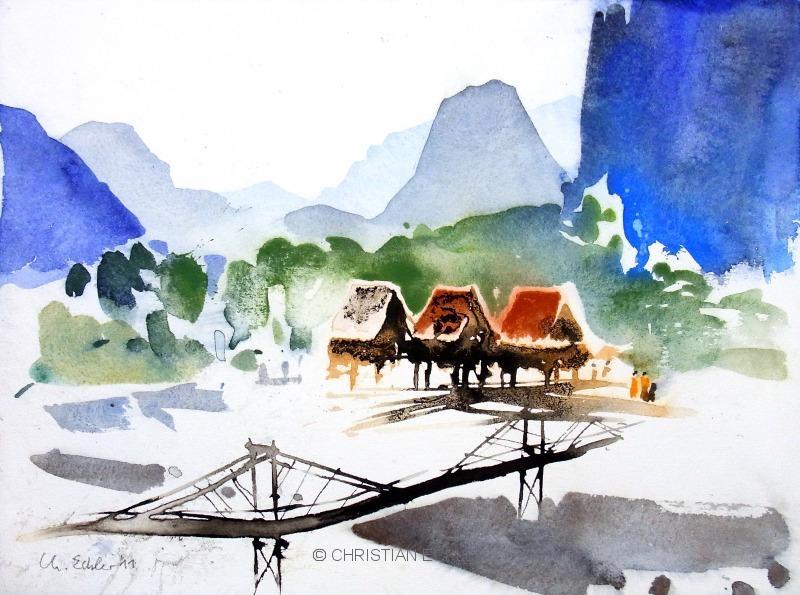 Vang Vieng, Laos, 2011
