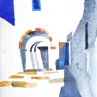 Durchgang, Patmos, 2012
