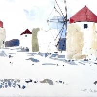 Mühlen, Amorgos, 2010