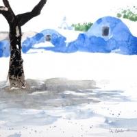 Kapellen, Amorgos, 2010