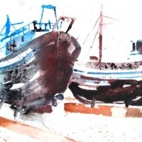 Dock, Essaouira, 2012