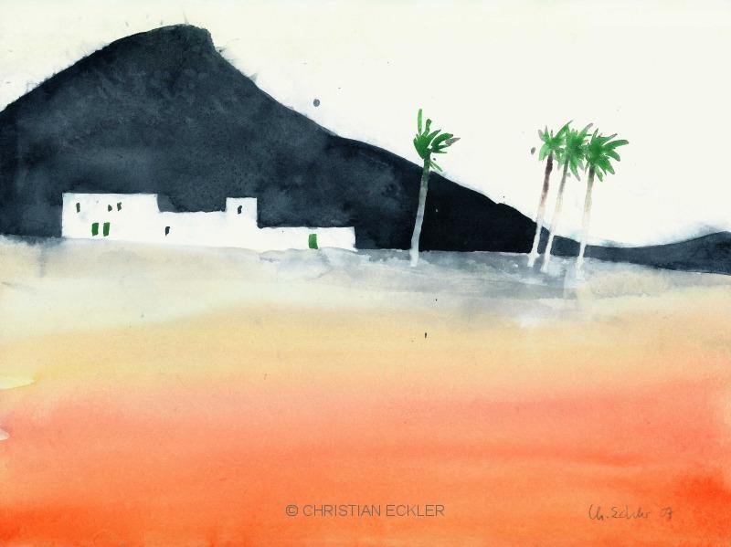 Gehöft, Lanzarote, 2007