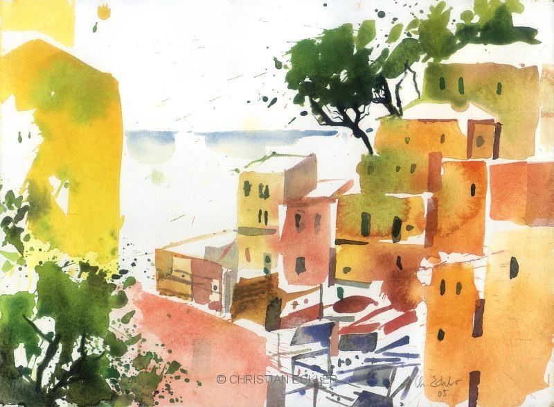 Riomaggiore, 5Terre, 2005
