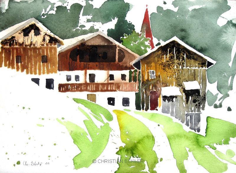 Bergbauernhof I, Tirol, 2011