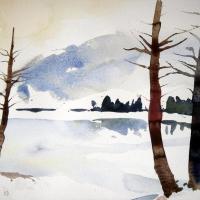 Winterspaziergang, 2003