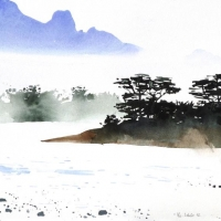 Am Fluss, Laos, 2012